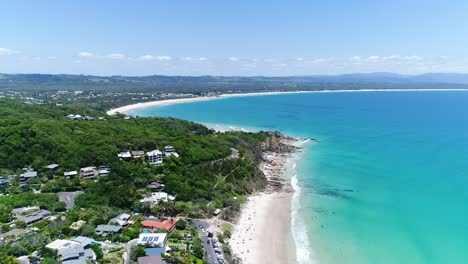 An-aerial-view-shows-the-coastline-of-Byron-Bay-in-New-South-Wales-Australia