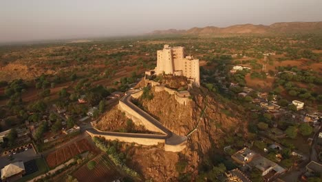 An-aerial-view-shows-the-Alila-Fort-Bishangarh-in-Jaipur-Rajasthan-India-1