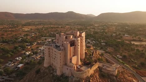 An-aerial-view-shows-the-Alila-Fort-Bishangarh-in-Jaipur-Rajasthan-India-2