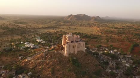 An-aerial-view-shows-the-Alila-Fort-Bishangarh-in-Jaipur-Rajasthan-India-3