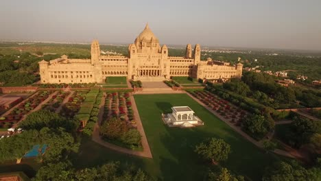 An-aerial-view-shows-the-Umaid-Bhawan-Palace-and-its-grounds-in-Jodhpur-India-2