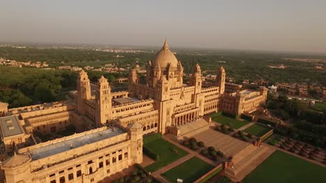 An-aerial-view-shows-the-Umaid-Bhawan-Palace-in-Jodhpur-India-1