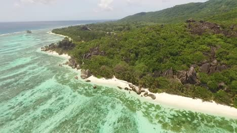 An-aerial-view-shows-La-Digue-island-in-the-Seychelles