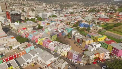 An-aerial-view-shows-traffic-bustling-in-the-city-of-BoKaap-in-Cape-Town-South-Africa