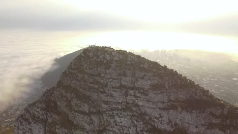 An-aerial-view-shows-tourists-atop-the-Lion-s-Head-mountain-in-Cape-Town-South-Africa-2