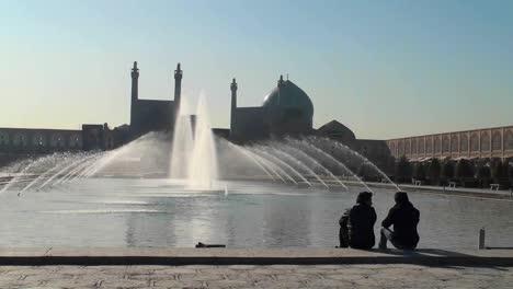 Plaza-Naqshe-Jahan-En-Isfahan-Irán-1