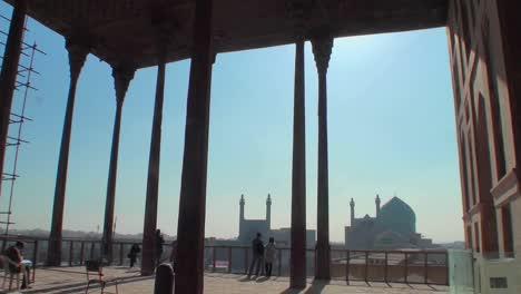 Blick-Auf-Den-Naqshe-Jahan-Platz-In-Isfahan-Iran-Vom-Ali-Qapu-Palastpu