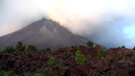 An-active-volcano-bilious-smoke-and-ash-1