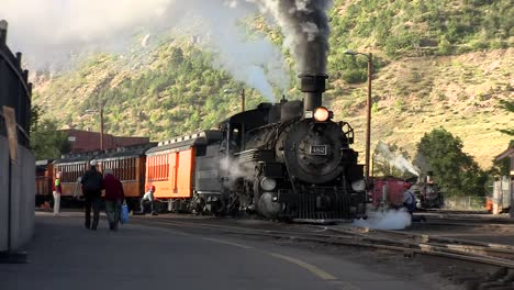 A-steam-train-leaving-the-station