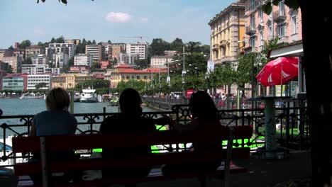 A-lakeside-view-of-Lugano-Italy