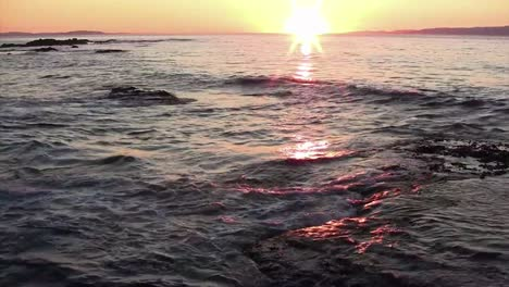 A-beautiful-sunset-over-the-ocean