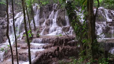 A-waterfall-cascades-in-the-jungle-of-Lacandone-jungle-in-Chiapas-Mexico