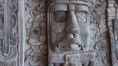 A-carved-mask-at-the-Mayan-Temple-at-Yaxchilian