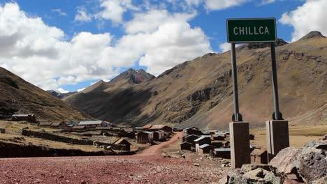 Chillca-village-sign