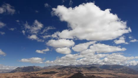 Static-shot-of-clouds-over-valley