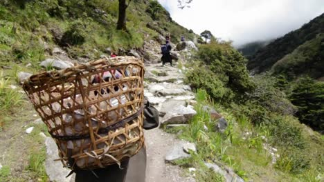 Porters-headed-up-trail