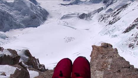 Sitting-on-the-edge-Mount-Foraker-basecamp