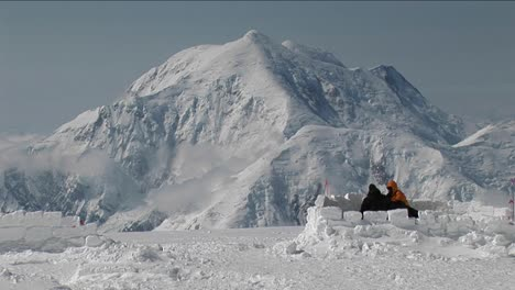 Tent-being-set-up-with-Mt-Foraker
