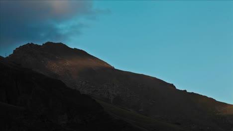 Sun-plays-on-Caucasus-foothill
