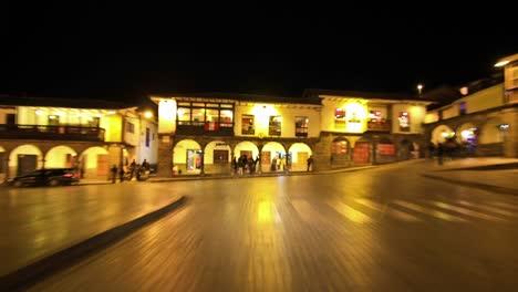 Conduciendo-Por-Cusco-Peru-De-Noche