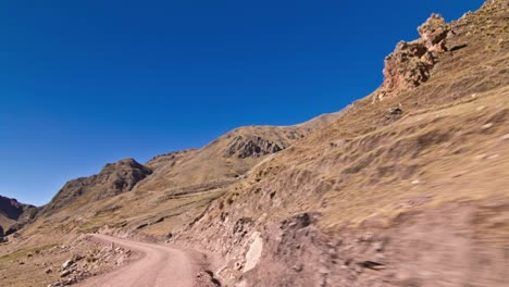 Driving-to-Chillka-through-Andean-foothills