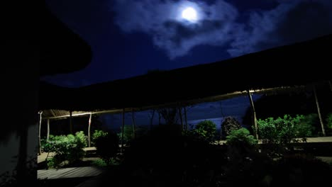 Hotel-at-night-with-moon-overhead