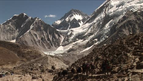 Yaks-and-porters-heading-out