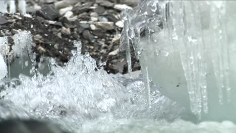 Rushing-water-of-glacial-stream