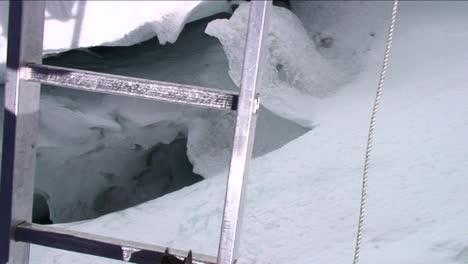 POV-crossing-ladder-over-deep-crevasse