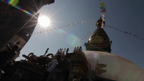 Deslizamiento-Revelando-Swayambhunath-Temple