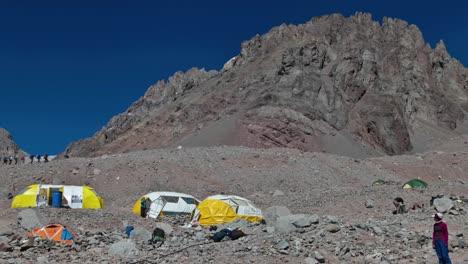 Aconcagua-Time-Lapse-Plaza-Argentina-Escaladores-Escalada-1