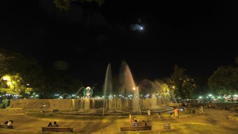 Mendoza-Time-Lapse-Public-square-and-fountains