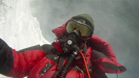 Strong-winds-batter-climber-on-Lhotse-face