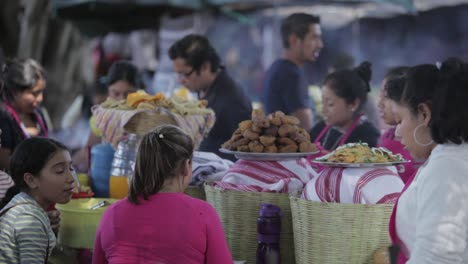 Busy-food-stalls-serve-meals-to-people-attending-Easter-festivities-(Semana-Santa)-in-Antigua-Guatemala-
