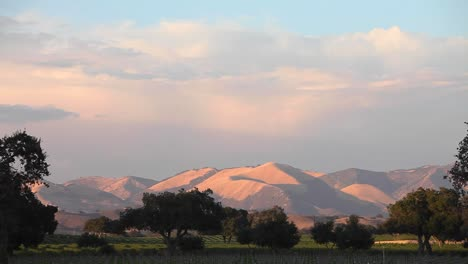 Magic-hour-light-on-a-beautiful-hill-and-vineyard-in-the-Santa-Ynez-Valley-AVA-of-CaliforniaÍs-2