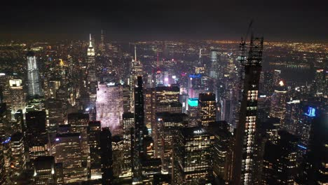 An-aerial-view-shows-shot-from-Billionaires-Row-in-New-York-City-New-York
