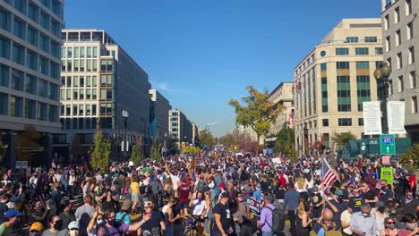Crowds-Gather-On-Streets-In-Washington-Dc-To-Celebrate-The-Victory-Of-Joe-Biden-Over-Donald-Trump-In-The-US-Presidential-Elections-4