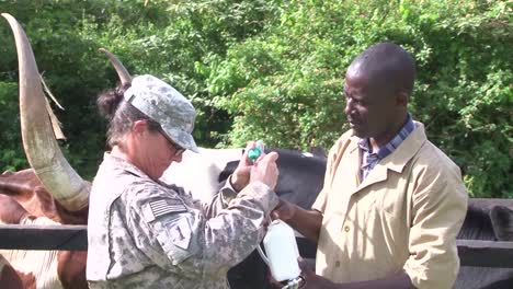 Africans-In-A-Village-In-Uganda-Are-Helped-By-Members-Of-The-Us-Military-To-Understand-How-Animals-Can-Be-A-Source-For-Disease-1