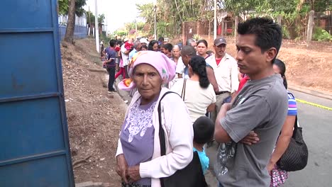 Long-Lines-Form-As-Us-Navy-And-Canadian-Doctors-Give-Free-Medical-And-Dental-Care-To-Residents-Of-Caluco-El-Salvador