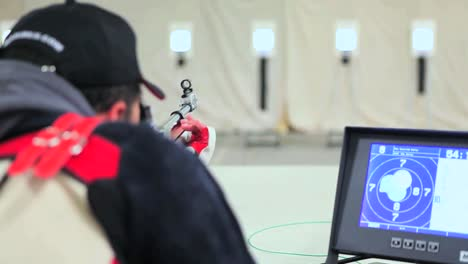 Wounded-And-Disabled-Army-Veterans-Compete-In-Target-Shooting