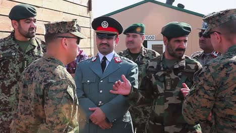 Afghan-Officials-Visit-An-Army-Base