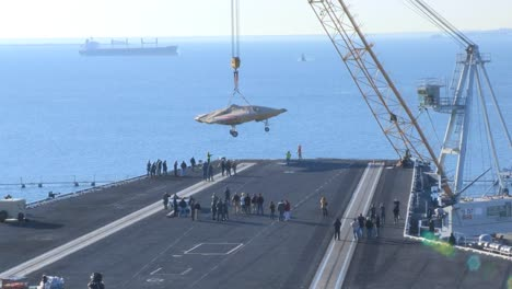 A-Secret-Us-Spy-Plane-The-X47B-Unmanned-Combat-Air-System-Is-Delivered-To-An-Aircraft-Carrier-1