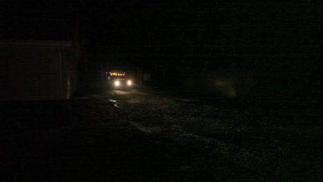 A-Dog-Catcher-Vehicle-Passes-At-Night