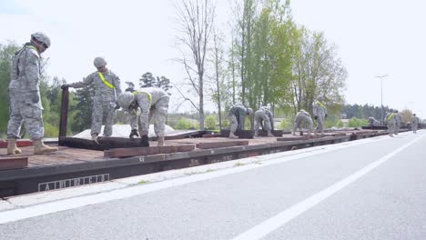 Us-Military-Gear-Is-Loaded-On-To-Railcars-And-Prepared-For-Cross-Country-Transport-12