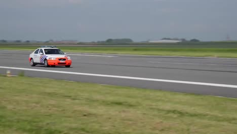Belgian-Federal-Police-Use-Chievres-Air-Base-Runway-To-Calibrate-Their-Speedometers
