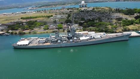 Aerials-Over-Pearl-Harbor-Memorial-Hawaii