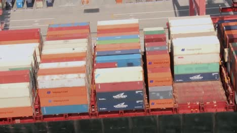 Aerials-Over-A-Container-Port-In-Norfolk-Virginia
