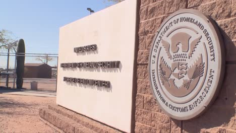 Shots-Outside-The-Florence-Detention-Facility-In-Florence-Arizona
