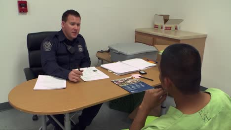 Shots-Inside-The-Florence-Detention-Facility-In-Florence-Arizona