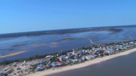 Antenas-Sobre-Islas-Barrera-En-El-Camino-Del-Huracán-Sandy